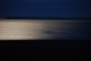 lune dans l'eau